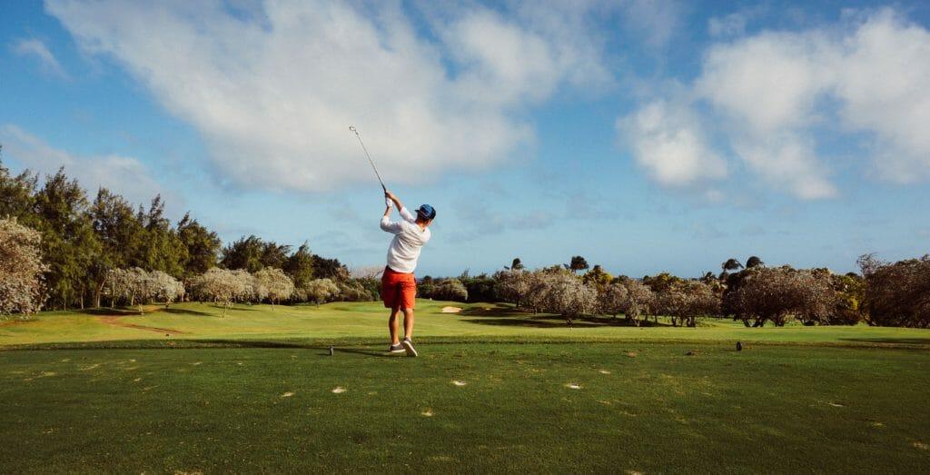 clouds shade golf golfer 92858